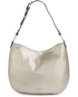 Erica Pebbled Leather Hobo Bag