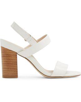 Juliett Two-piece Block Heel Sandals