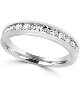 14k White Gold Ring With 0.49 Tcw Diamonds