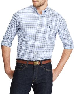 Standard Fit Checked Oxford Shirt
