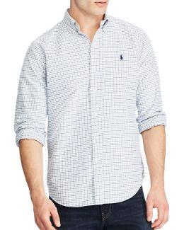 Standard Fit Tattersall Oxford Shirt