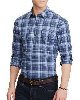Standard-fit Cotton Shirt