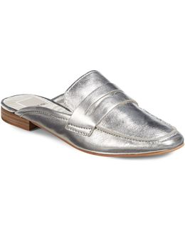 Cybil Leather Slip-on Loafers