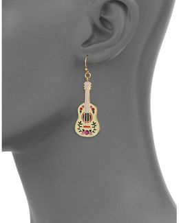 Guitar Drop Earrings