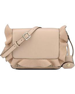 Ruffled Crossbody Bag