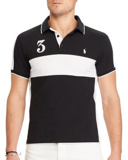 Big And Tall Classic-fit Featherweight Cotton Polo