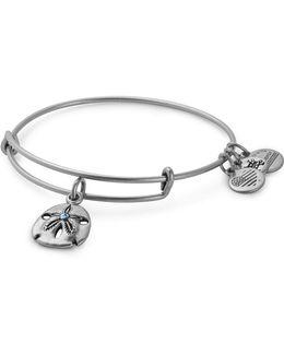 Swarovski Crystal Sand Dollar Adjustable Bracelet