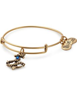 Swarovski Crystal Anchor Adjustable Bracelet