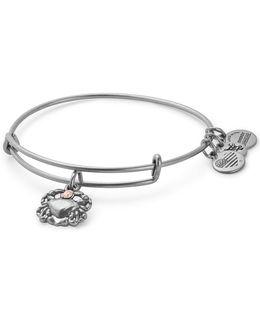 Swarovski Crystal Crab Adjustable Bracelet