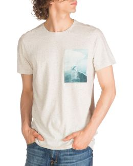 Trent Graphic Waves T-shirt