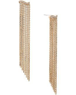 Wonderlust Crystal Goldtone Statement Chandelier Earrings