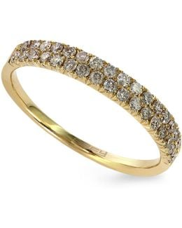14k Yellow Gold Ring With 0.37tcw Diamonds