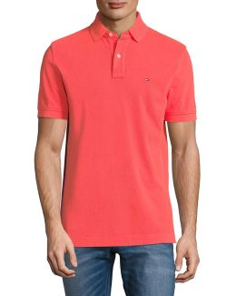 Cotton Pique Polo