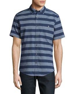 Nate Stripe Short Sleeve Shirt