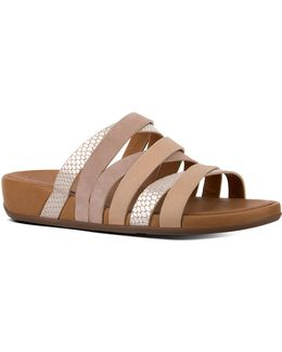 Lumy Leather Slide Sandals