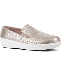 Superskate Metallic Slip-on Loafers