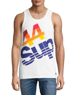 Sup Retro Sleeveless T-shirt