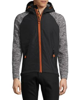 Raglan Hooded Jacket