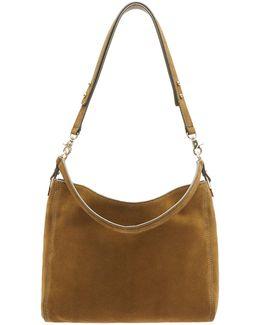 Textured Mini Hobo Bag