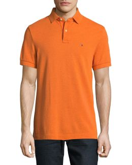 Custom Fit Solid Polo