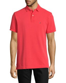 Custom-fit Solid Polo