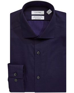 Steel Slim-fit Non-iron Dress Shirt