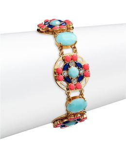 Jeweled Tile Bracelet