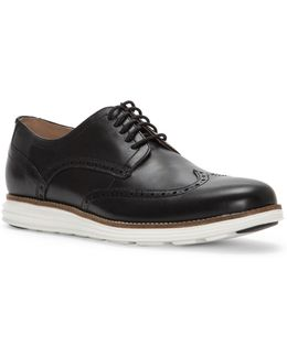 Grand Shortwing Leather Oxfords