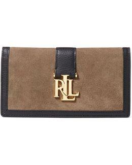 Carrington Colourblock Leather Continental Wallet