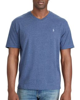 Big And Tall Classic-fit Cotton Tee
