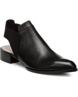 Geenie Leather-combo Ankle Boots