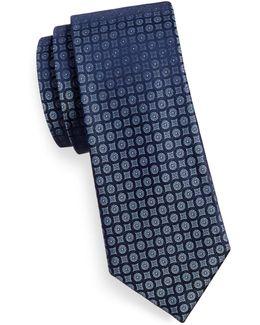 Silk Medallion Tie