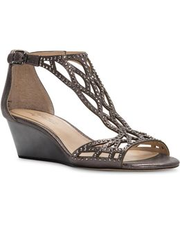 Imagine Jalen Embellished Leather Sandals