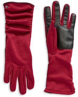 Ruched Touch Gloves