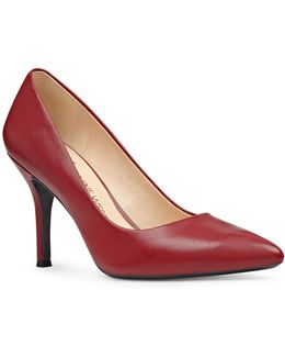 Fifth Patent Leather Dress Pumps