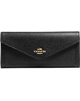 Soft Crossgrain Leather Wallet