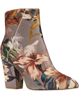 Floral Chelsea Boots