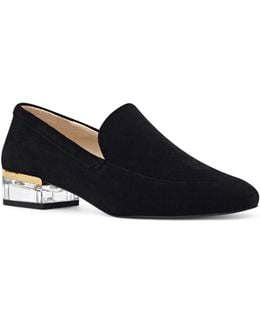 Lucite Heel Loafers