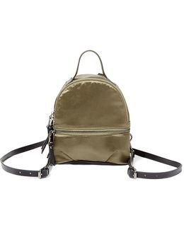 Bsly Satin Mini Backpack