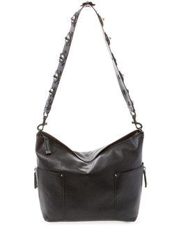 Bbrett Floral Studded Shoulder Bag