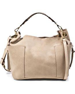 Bmarla Stud Two-toned Shoulder Bag