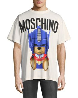 Transformers Teddy Graphic Tee