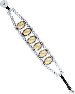 Western Crystal Link Bracelet