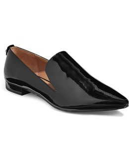 Elin Patent Toe Loafers