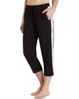 Cropped Jersey Pyjama Pants