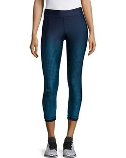 Compression Fit Heatgear Armour Graphic Ankle Leggings