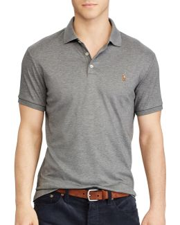 Classic-fit Soft-touch Polo