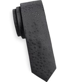 Silk Neat Print Tie