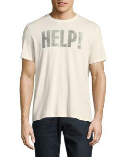 Beatles Help Graphic T-shirt