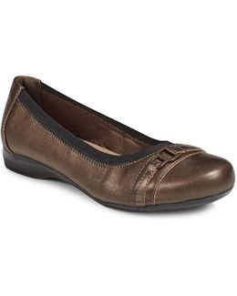 Kinzie Leather Ballet Flats
